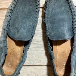 Men's Prada casual suede slip-on shoes